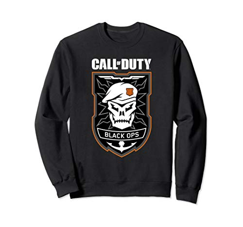 Call of Duty: Black Ops 4 Badge Sweatshirt (Call Of Duty Ghosts Multiplayer Weapons List)