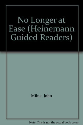 No Longer at Ease (Heinemann Guided Readers)