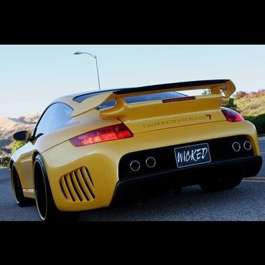 Amazon.com: Porsche 997 GT2 Trunk & Wings for 996 & 997 Turbo: Automotive