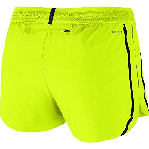 Nike Femmes Aeroswift 2 Shorts De Course Volt / Réfléchissant Argent