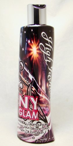 High Fashion NY Glam 50x Bronzer Max Silicone Tanning Lotion 10 oz. by High Fashion