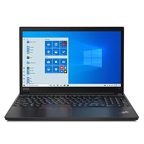 Lenovo ThinkPad E15 (2021) Intel Core i7 11th Gen 15.6″ FHD Thin and Light Laptop (16GB RAM/512GB SSD/Windows 10/MS Office/Fingerprint Reader/Black/Aluminium Surface/ 1.7 kg), 20TDS0G100