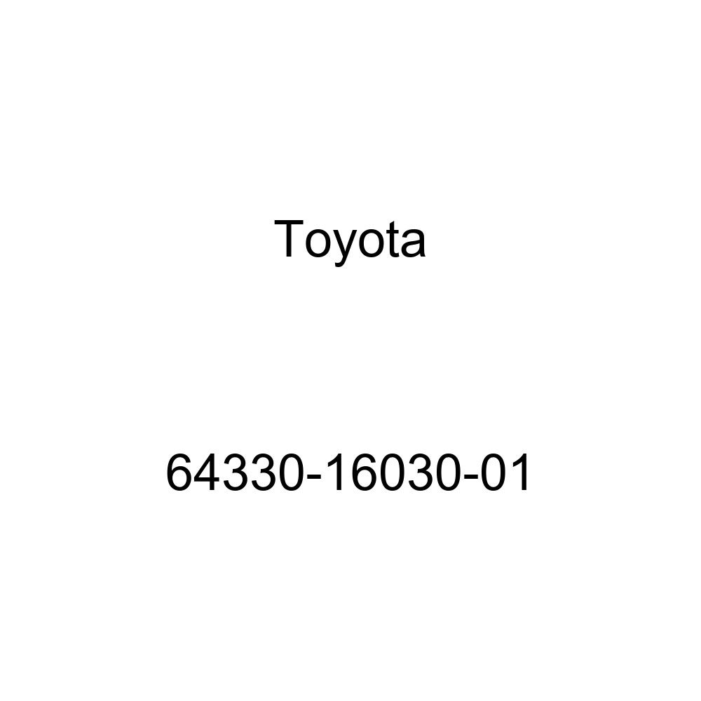 Toyota Genuine 64330-16030-01 Package Tray Trim Panel Assembly