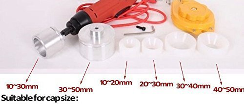 10-50mm New Manual Electric Screw Capper Plastic Bottle Capping Machine 220V by cjc (Image #3)