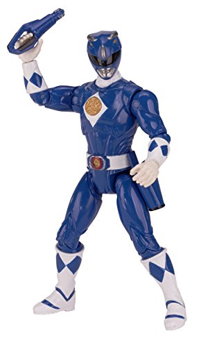 Power Rangers Legacy Mighty Morphin Movie 5-Inch Blue Ranger Action Figure Power Rangers Collectables