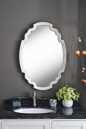 Kenroy Home Backstage Wall Mirror, White