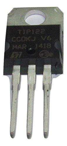TIP122 100V 5A Power Transistor for General Purpose Amplifier 1 Pack Amplifier Power Transistors