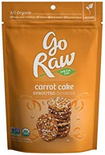 product image for Go Raw 100% Organic Super Cookies Carrot Cake 3 oz, one bag