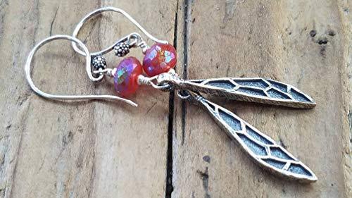 Dragonfly Wing Earrings