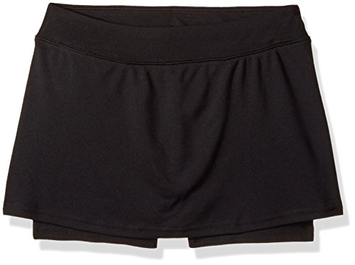 Hanes Big Girls' Sport Performance Skort, Black, XL