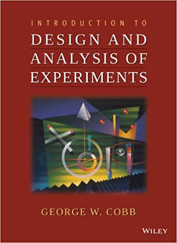 Amazon introduction to design and analysis of experiments amazon introduction to design and analysis of experiments 9780470412169 george w cobb books fandeluxe Choice Image