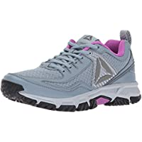 Reebok Women's Ridgerider 2.0 Trail Runner Shoes (Grey/Violet/Pewter)