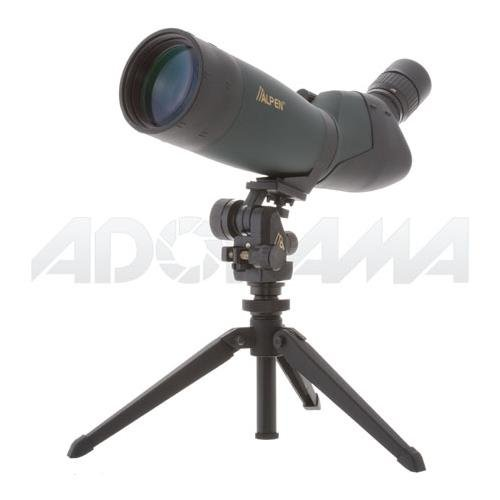 Alpen Optics 20-60x80 w/45 degree EP, Waterproof Fogproof Spotting Scope by Alpen Optics