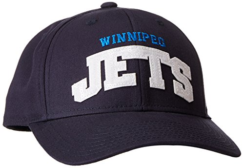 fan products of NHL Winnipeg Jets Women's SP17 Sequenced Structured Adjustable Cap, Navy, One Size