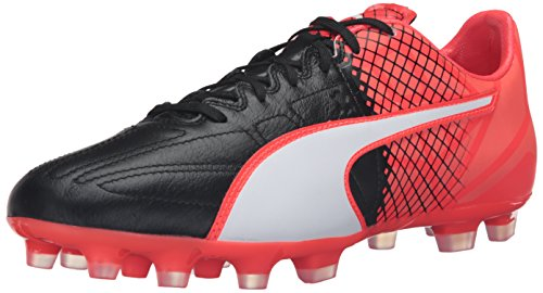 Evospeed White LTH 3 Red Men's Black Shoe Soccer 9 M 5 Ag US PUMA 5wq4zxC