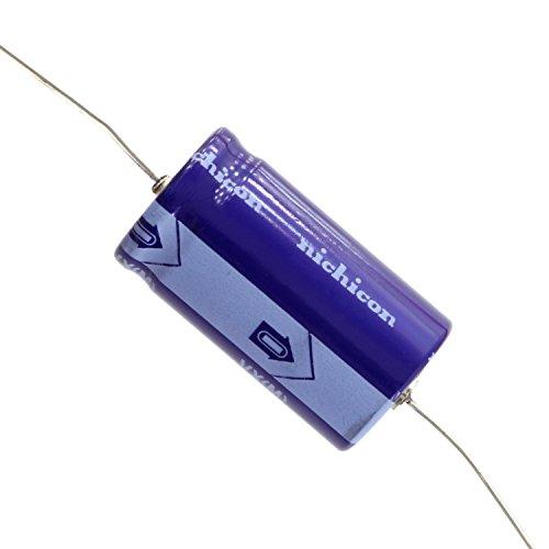 22uf Axial Capacitors - Nichicon VX Series Axial Electrolytic Capacitor, 22uf @ 250VDC