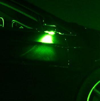 2x refleja luz verde SMD LED adecuado para Seat Leon 1P 1M Ibzia 2 3 6L xenón blanco del bote: Amazon.es: Coche y moto