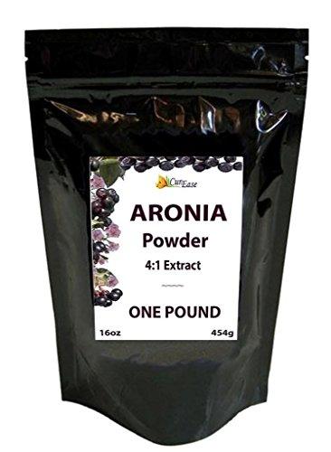 CurEase Aronia 4:1 Extract Choke Berry Bulk Powder Pound 1lb (16oz)