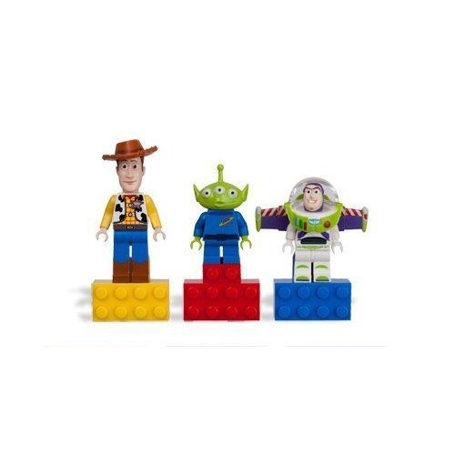 LEGO Toy Story Mini Figure Magnet Set – Woody, Buzz LightYear, and Alien, Baby & Kids Zone