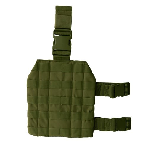 Drop Leg Molle - Condor MA1 Tactical MOLLE Drop Leg Platform - OD Green
