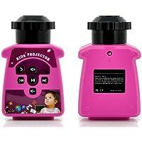 GIGXON IQ1 Kids Mini Portable Projector 5 ANSI Lumens for Children study Cartoon Music Ebook Entertainment