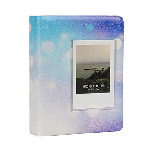 jiulonerst-64 Pockets 3 Inch Starry Sky Photo Book Album for Fujifilm Instax Mini Films 9 8 7s 90 70 25 Name Card Holder (Difference Between Fujifilm Mini 7s And 8)