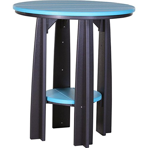 """LuxCraft Recycled Plastic 36"""" Balcony Table"""