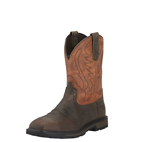 Ariat Men's Groundbreaker Wide Square Steel Toe Work Boot, B