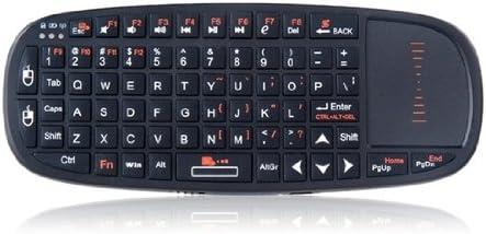 NEW RII2.4G Mini teclado inalámbrico con ratón, puntero láser ...