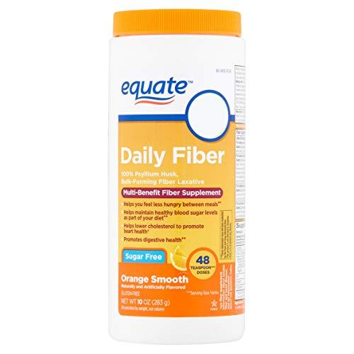 Equate - Fiber Therapy, Sugar Free, Smooth Texture, Orange Flavor, Powder, 10.0 oz, 48 Doses (1)