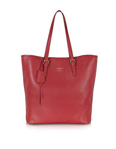 Le Parmentier Borsa Shopping Donna 8507Red Pelle Rosso