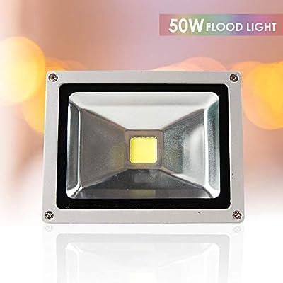 50W Day White LED Flood Light Spot Indoor Outdoor Waterproof Lighting Lamp