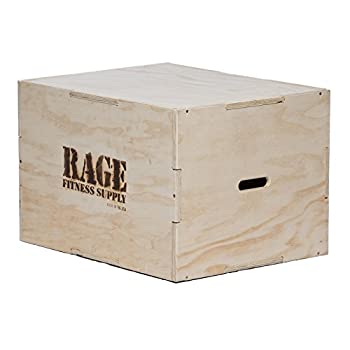 Image of Rage Fitness 3 in 1 Wood Plyo Box 20' x 24' 30', Made The USA Benches