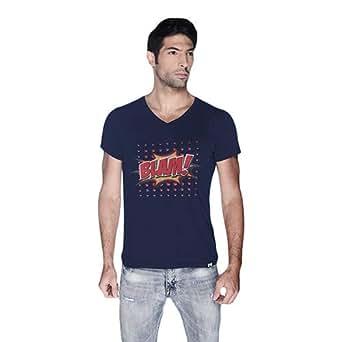 Cero Blam Retro T-Shirt For Men - Xl, Navy Blue