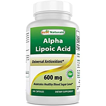 Nature S Pure Alpha Lipoic Acid Mg