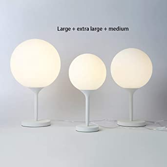 DEPAOSHJ Lámpara de mesa de castor simple Diseño italiano ...