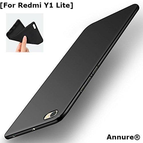 the best attitude d854c 196fd Annure Slim Back Cover Case For Redmi Y1 Lite - Black
