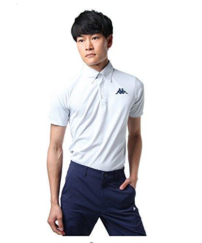 カッパゴルフ ゴルフウェア ポロシャツ 半袖 カモジャガード半袖BDN KG812SS93S WT L