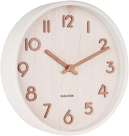 Karlsson Pure Wall Clock Small Amazon Co Uk Kitchen Home