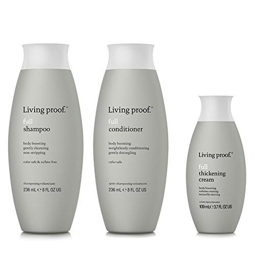Cream Shampoo (Living Proof Full Shampoo & Conditioner 8 oz Duo & Full Thickening Cream 1 kit)