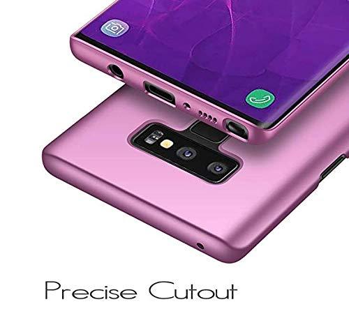 Pouces Rayures Ultra pour Violet Fini Galaxy Case Galaxy Coque Intgrale Mat PC Anti Choc Lger Etui 6 Samsung 9 Anti Housse Ultra Mince Protection Note 9 Soyeux Dur Note 4 6qxfTqB