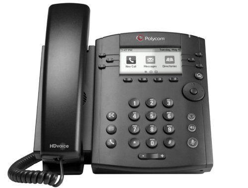 ne Desktop Phone with HD Voice PoE without Power Su (Certified Refurbished) ()