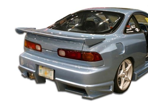 Duraflex Replacement for 1994-2001 Acura Integra 2DR Bomber Rear Bumper Cover - 1 Piece
