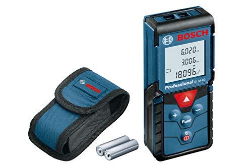 Trena Laser Bosch GLM 40 alcance 40m com bolsa protetora