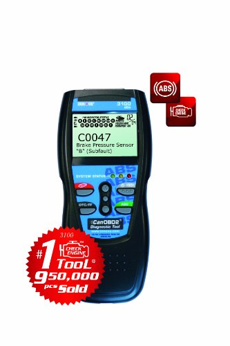 INNOVA 3100 Diagnostic Scan Tool/Code Reader with ABS and Battery Backup for OBD2 Vehicles