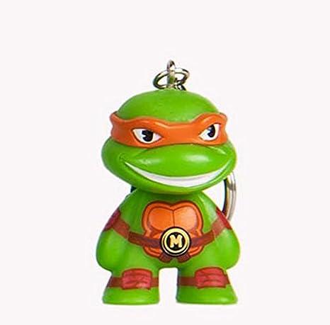 Amazon.com: Kidrobot X teenage mutant ninja turtles llavero ...