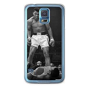Muhammad Ali Samsung Galaxy S5 Transparent Edge Case - Heroes