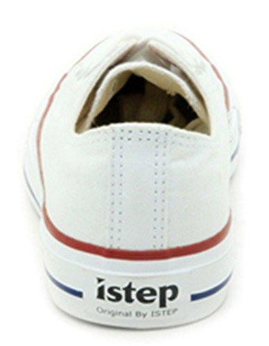 Comfortabele Comfortabele Lace-up Casual Canvasschoenen Voor Koppels Wit
