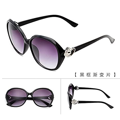 8e6cde1e86 Image Unavailable. Image not available for. Color  GMYANTYJ Sunglasses  Sunglasses lady round face retro ...