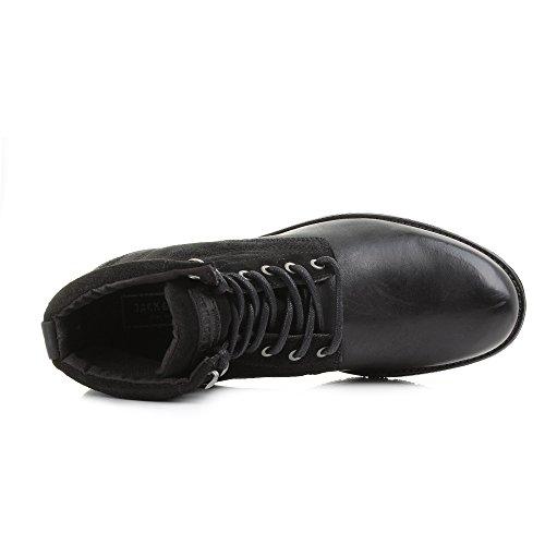 Jack & Jones - Botas para hombre negro negro Talla única